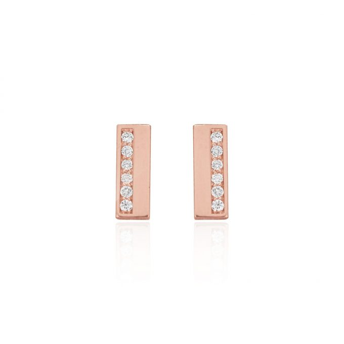 diamond bar earring maidor