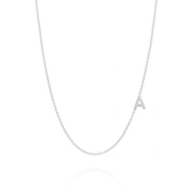 1 Letter Initial Necklace