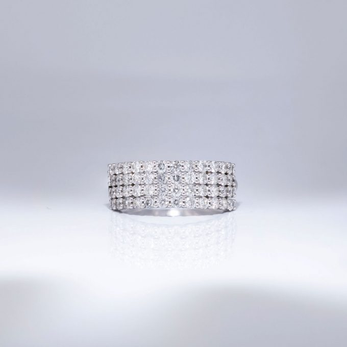 Diamond Pave Band Ring